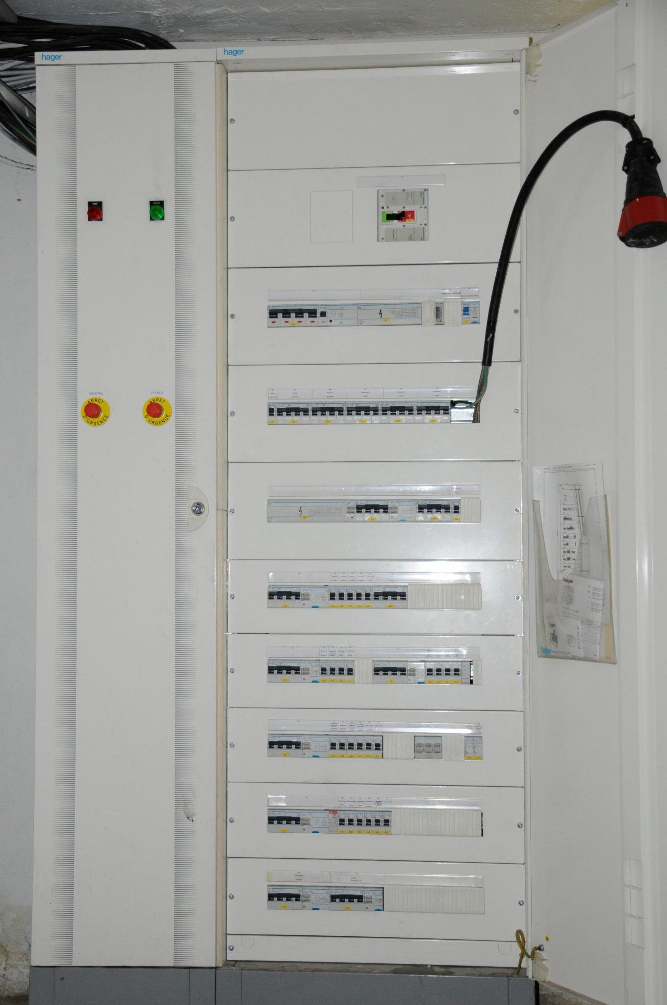 coffret electrique modif - Activités
